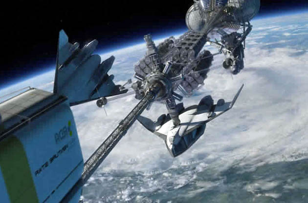 Avatar spaceship: James Cameron Best Film surprise + future Best Visual Effects winner?