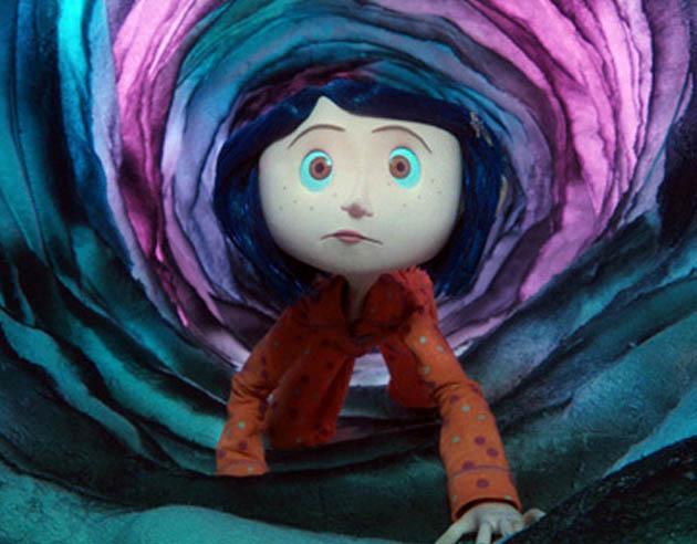 Coraline Henry Selick. Dark fantasy in Hollywood retrospective with Dakota Fanning