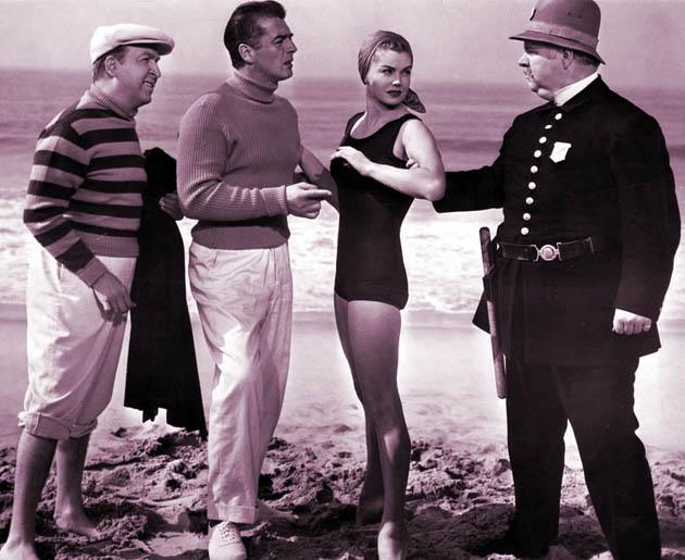 Esther Williams Million Dollar Mermaid Victor Mature + scandalous one-piece swimsuit