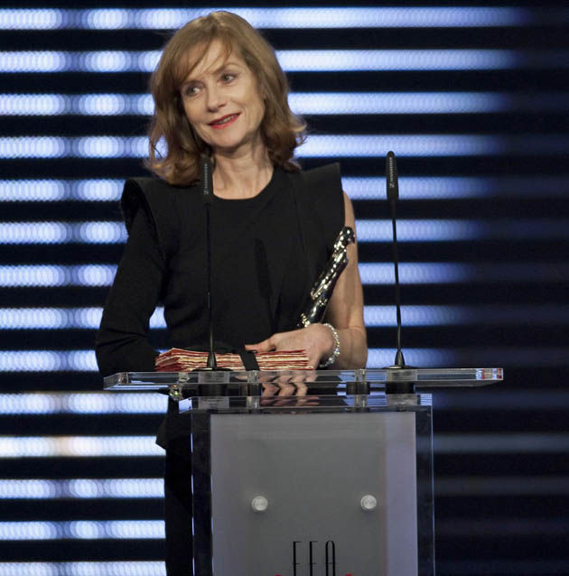 Isabelle Huppert European Film Awards: European Achievement in World Cinema is 2-time winner