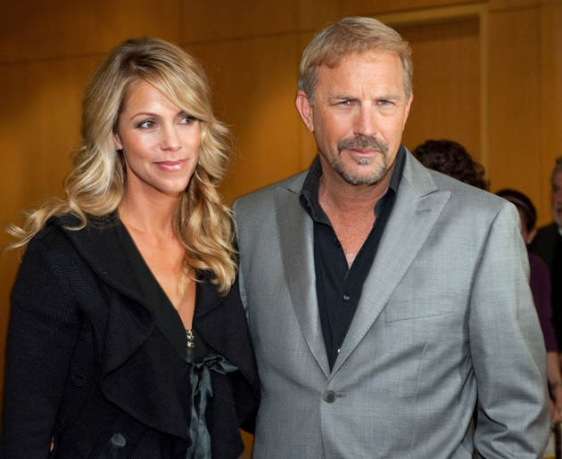Kevin Costner wife Christine Baumgartner. Field of Dreams actor hits included Bull Durham