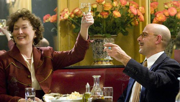 Meryl Streep Julie and Julia Stanley Tucci. New York Film Critics Best Actress