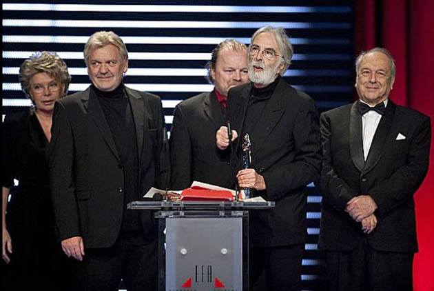Michael Haneke European Film Awards: The White Ribbon is 2nd movie to win top 3
