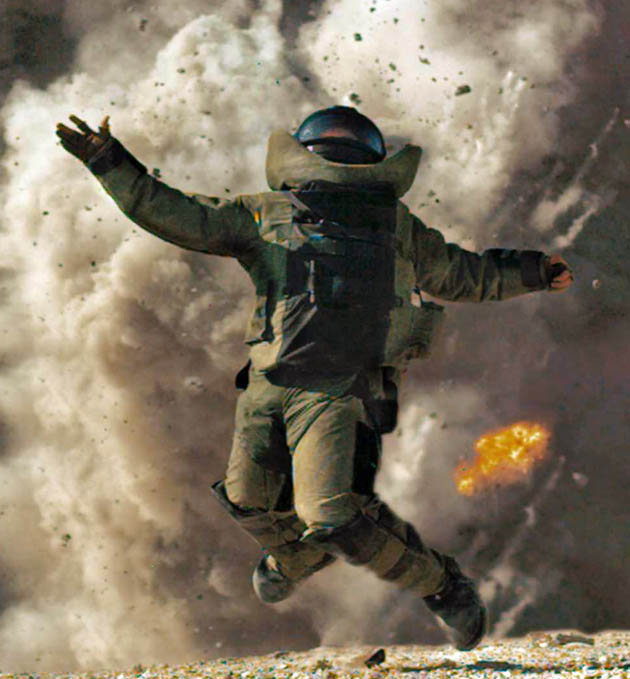 The Hurt Locker Best Film: Explosive Iraq War drama tops critics' choices
