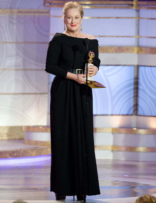 Meryl Streep vessel for other women's lives