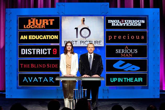 Anne Hathaway Oscar Nominations Academy President Tom Sherak
