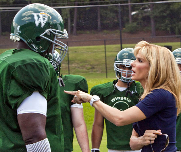Best Picture Oscar nominated The Blind Side Quinton Aaron Sandra Bullock