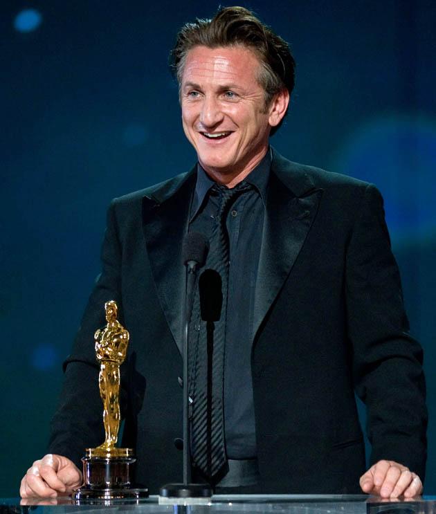 Sean Penn Best Actor Oscar winner