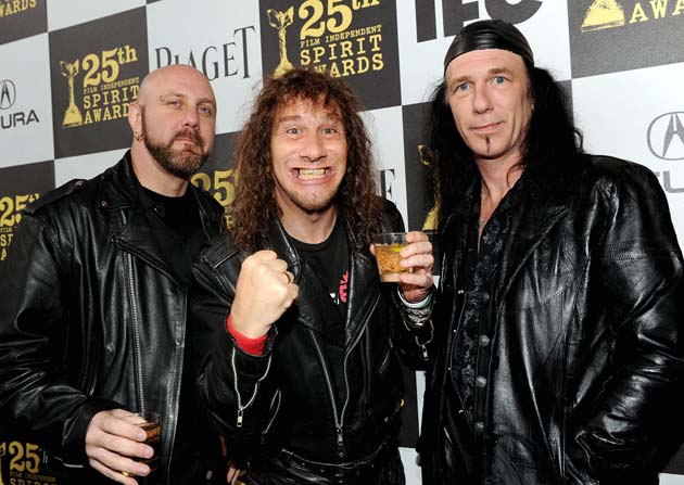 Anvil heavy metal band Glenn Five Steve Kudlow Robb Reiner