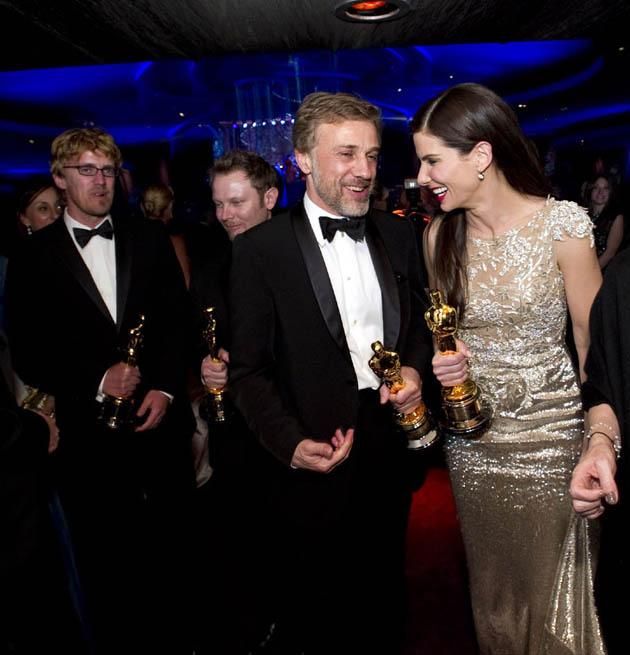 Andrew Jones Richard Baneham Christoph Waltz Sandra Bullock
