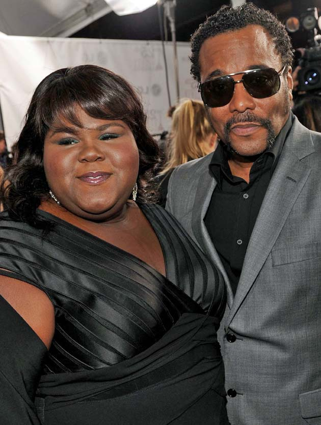 Gabourey Sidibe Lee Daniels Spirit Awards winners