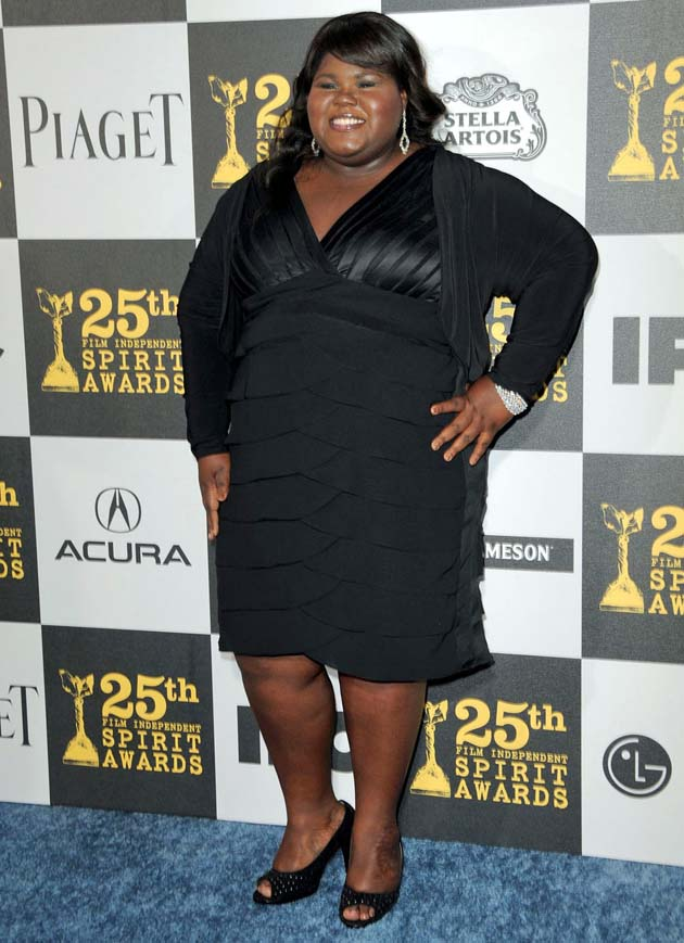 Gabourey Sidibe Best Actress Spirit Award winner