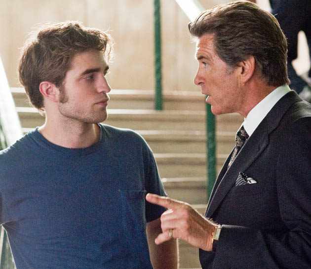 Remember Me Robert Pattinson Pierce Brosnan former James Bond Rebellious son