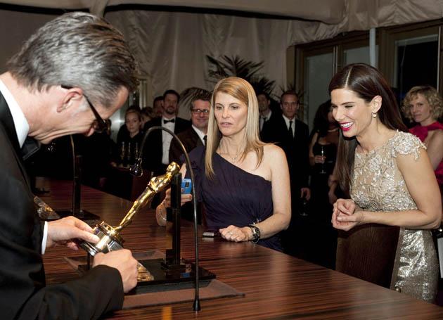 Sandra Bullock Oscar engraving