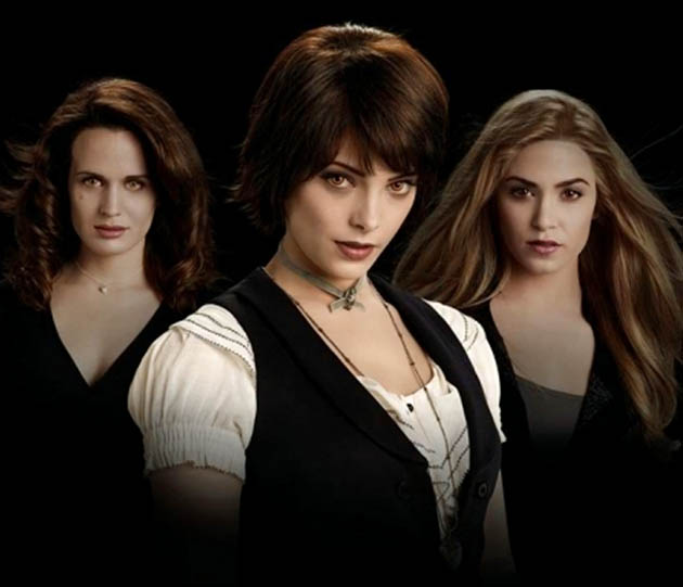 Ashley Greene Nikki Reed Elizabeth Reaser Eclipse She-vampires