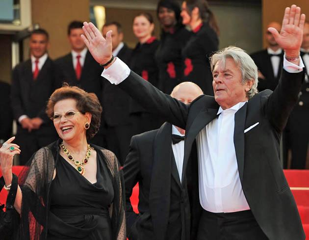 Claudia Cardinale Alain Delon The Leopard stars reunited