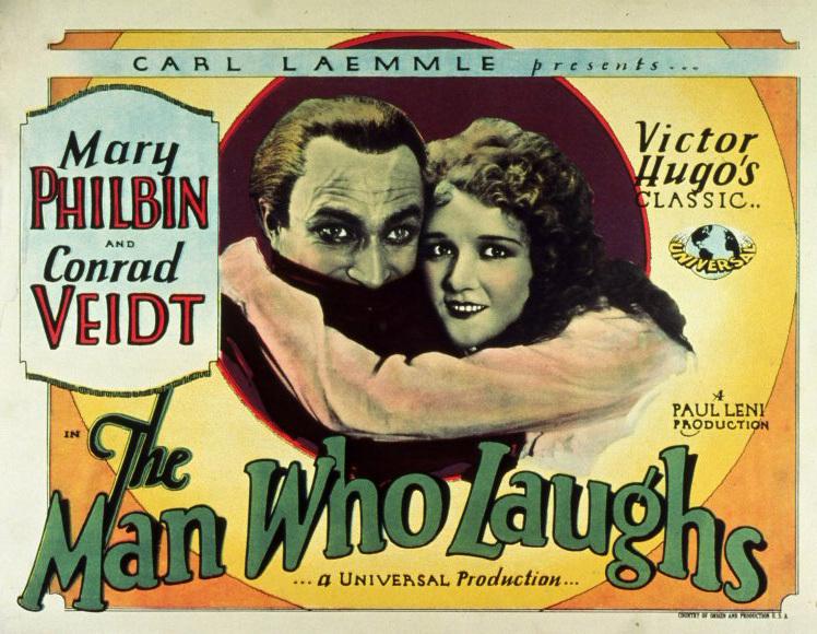 The Man Who Laughs Conrad Veidt Mary Philbin