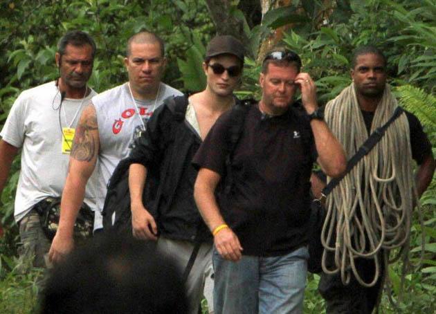 Robert Pattinson Brazil Isle Esme Breaking Dawn filmed in Paraty colonial town