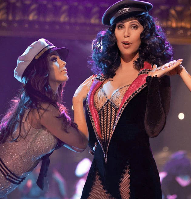 Burlesque Cher: Golden Globe nominee Best Motion Picture Comedy or Musical