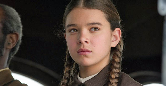 Hailee Steinfeld True Grit. Best Actress despite newcomer unfairly in supporting category