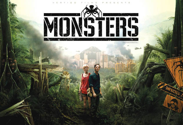 Monsters Gareth Edwards sci-fi horror thriller surprising Best Director winner
