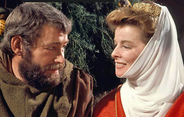 The Lion in Winter Katharine Hepburn Peter O'Toole: Same performance makes Oscar history twice