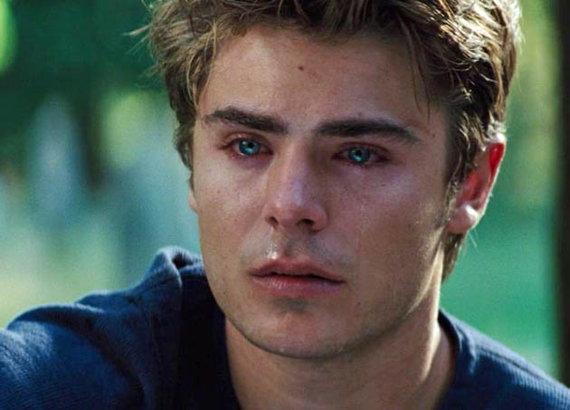 Zac Efron Charlie St. Cloud: People's Choice Awards wonders why so sad?