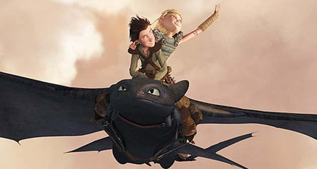 Annie Awards winner How to Train Your Dragon