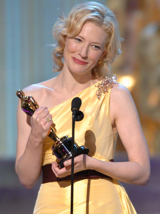 Cate Blanchett Best Supporting Actress Oscar