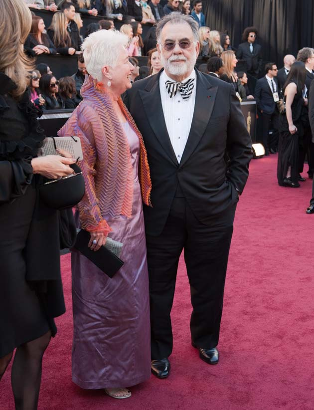 Francis Ford Coppola and wife Eleanor Academy Awards
