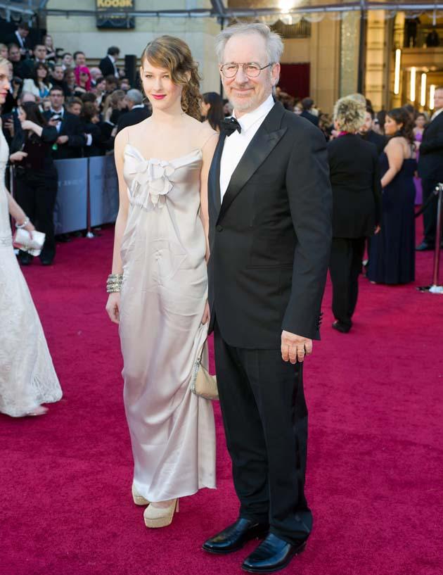 Steven Spielberg and daughter Destry Spielberg