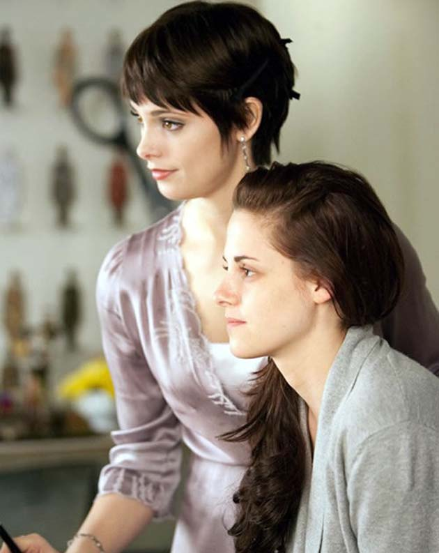 Ashley Greene Kristen Stewart Breaking Dawn