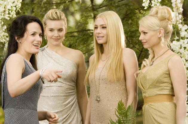 Denali Coven Twilight cast Maggie Grace MyAnna Buring Casey LaBow in Breaking Dawn