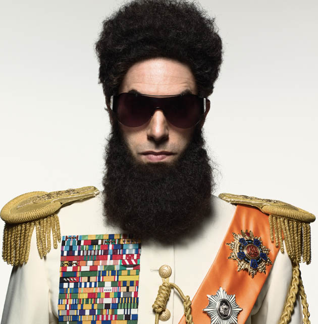 Sacha Baron Cohen The Dictator shades of Charles Chaplin?