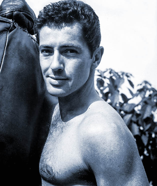 Farley Granger shirtless: TCM Remembers Hitchcock star + TV producer's gay lover
