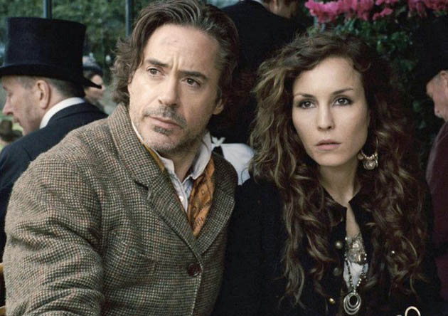 Sherlock Holmes A Game of Shadows Noomi Rapace Robert Downey Jr: Transformers + Conan Doyle