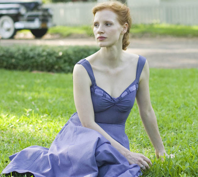 The Tree of Life Jessica Chastain. Cosmic consciousness family drama is film critics fave