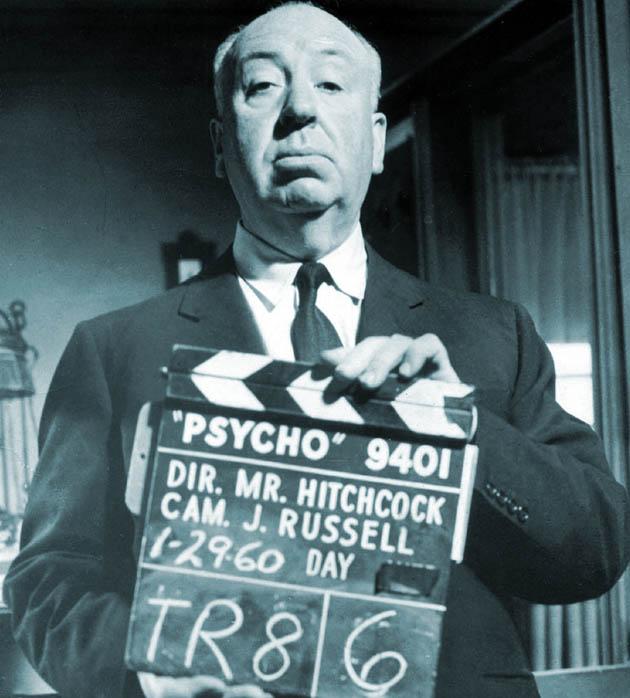 Alfred Hitchcock Psycho first Bafta Fellowship recipient