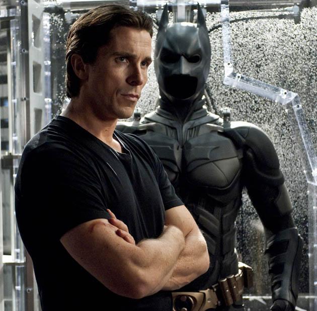 Christian Bale Bruce Wayne ominous Batsuit