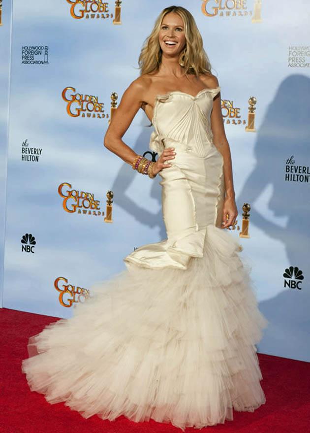 Elle Macpherson Golden Globes
