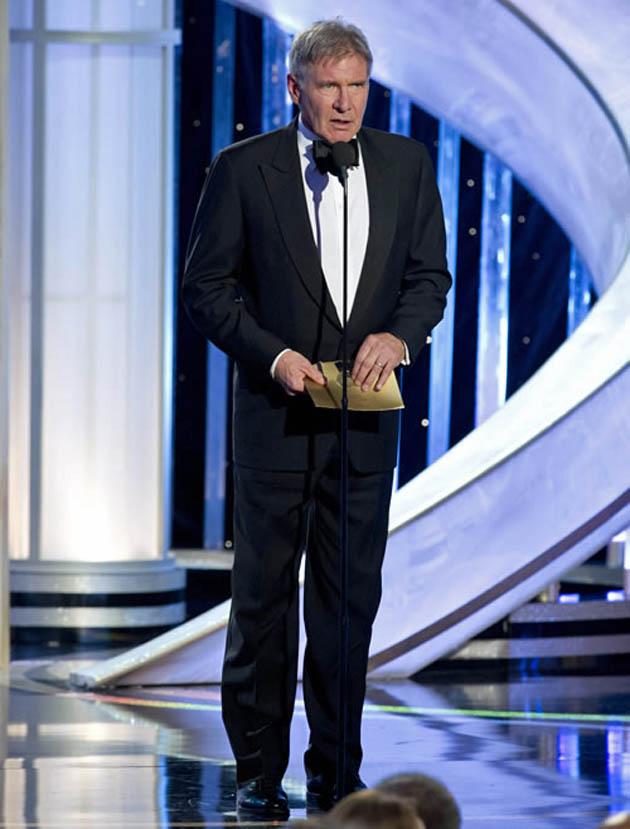 Harrison Ford Golden Globes