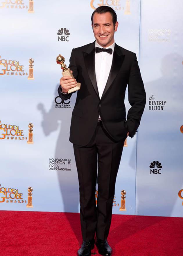 Jean Dujardin Golden Globes winner Douglas Fairbanks