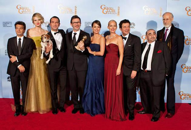 Golden Globes Best Picture winner Jean Dujardin Penelope Ann Miller