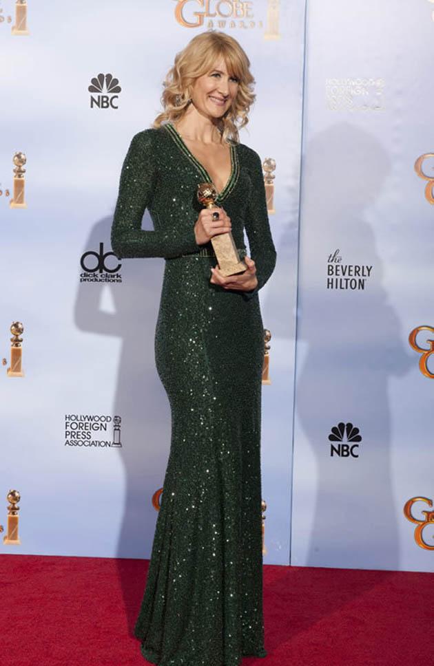 Laura Dern Best Actress Golden Globe winner