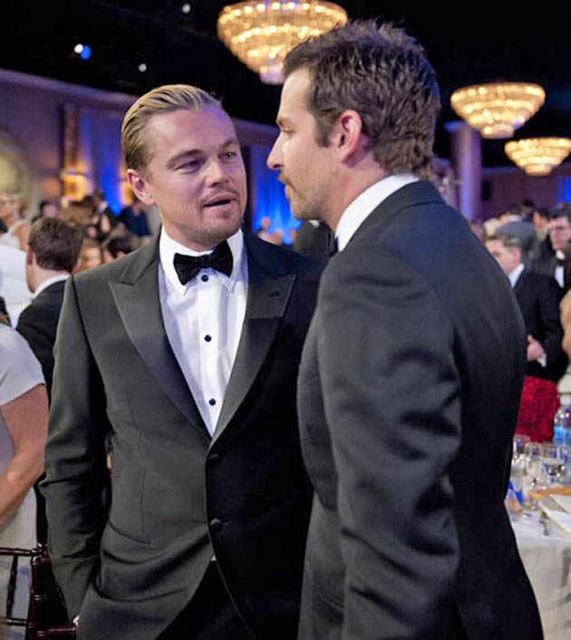 Leonardo DiCaprio Bradley Cooper Golden Globes