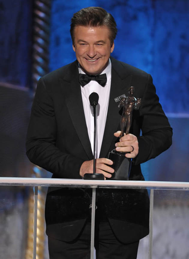Alec Baldwin SAG Awards multi-winner