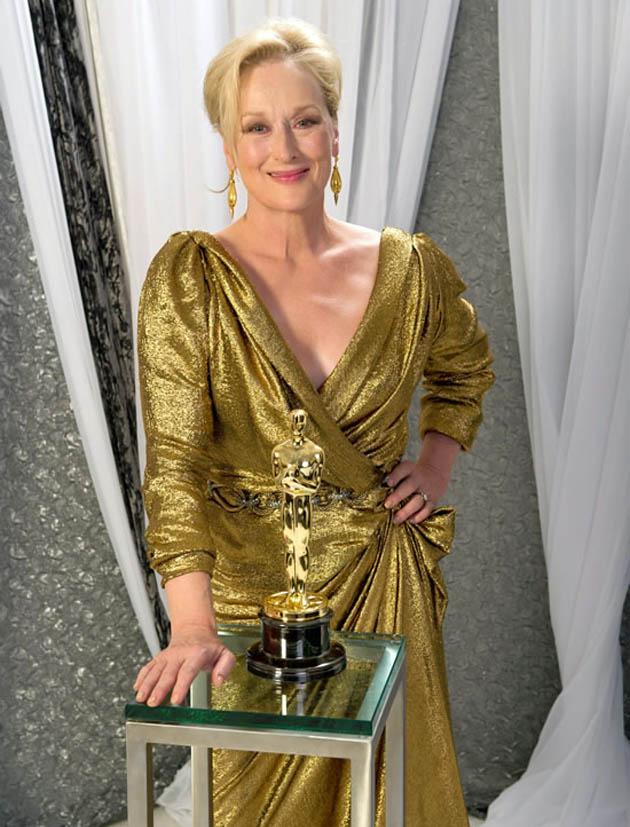 Meryl Streep Best Actress Oscar winner The Golden Lady golden little man