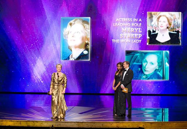 Meryl Streep three-time Oscar Margaret Thatcher The Iron Lady
