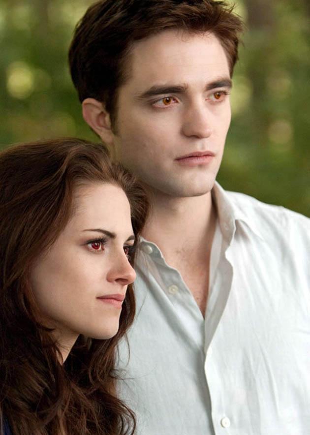 Robert Pattinson and Kristen Stewart Breaking Dawn 2 facts of vampire life