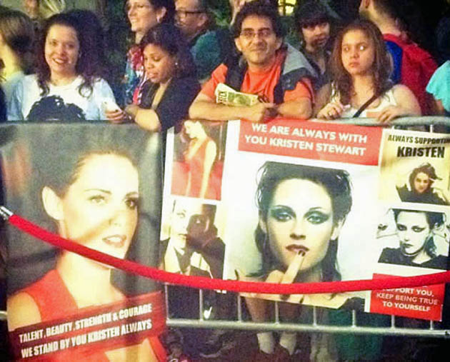Kristen Stewart fans post-scandal support